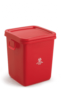 28 Gallon Medical Waste Collection Container