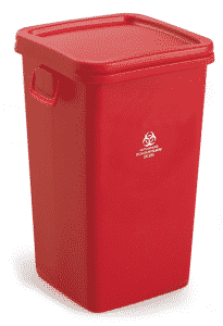 38 Gallon Medical Waste Collection Container