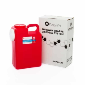 3 Gallon Sharps Disposal System