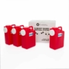 3 Gallon Sharps Disposal System (4 Pack)