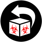 Mail Back Medical Waste Icon