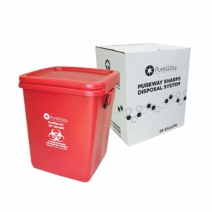28 Gallon Medical Waste Disposal System
